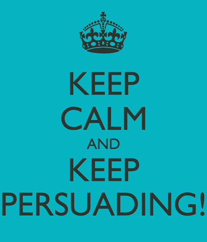Keep Persuading